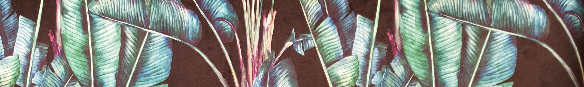 Banner 300 - Palm Frond Black